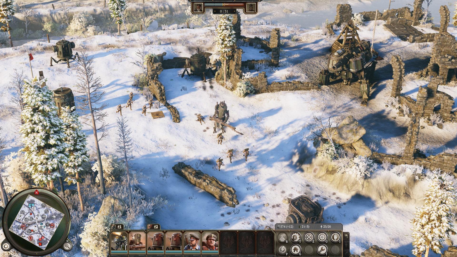 Iron Harvest demo preview KING Art Deep Silver Kickstarter trailer