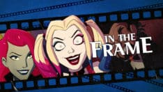 Harley Quinn meta humor self-aware humor parody homage adult cartoons, also including Rick and Morty, Venture Bros., Space Ghost Coast to Coast, etc.