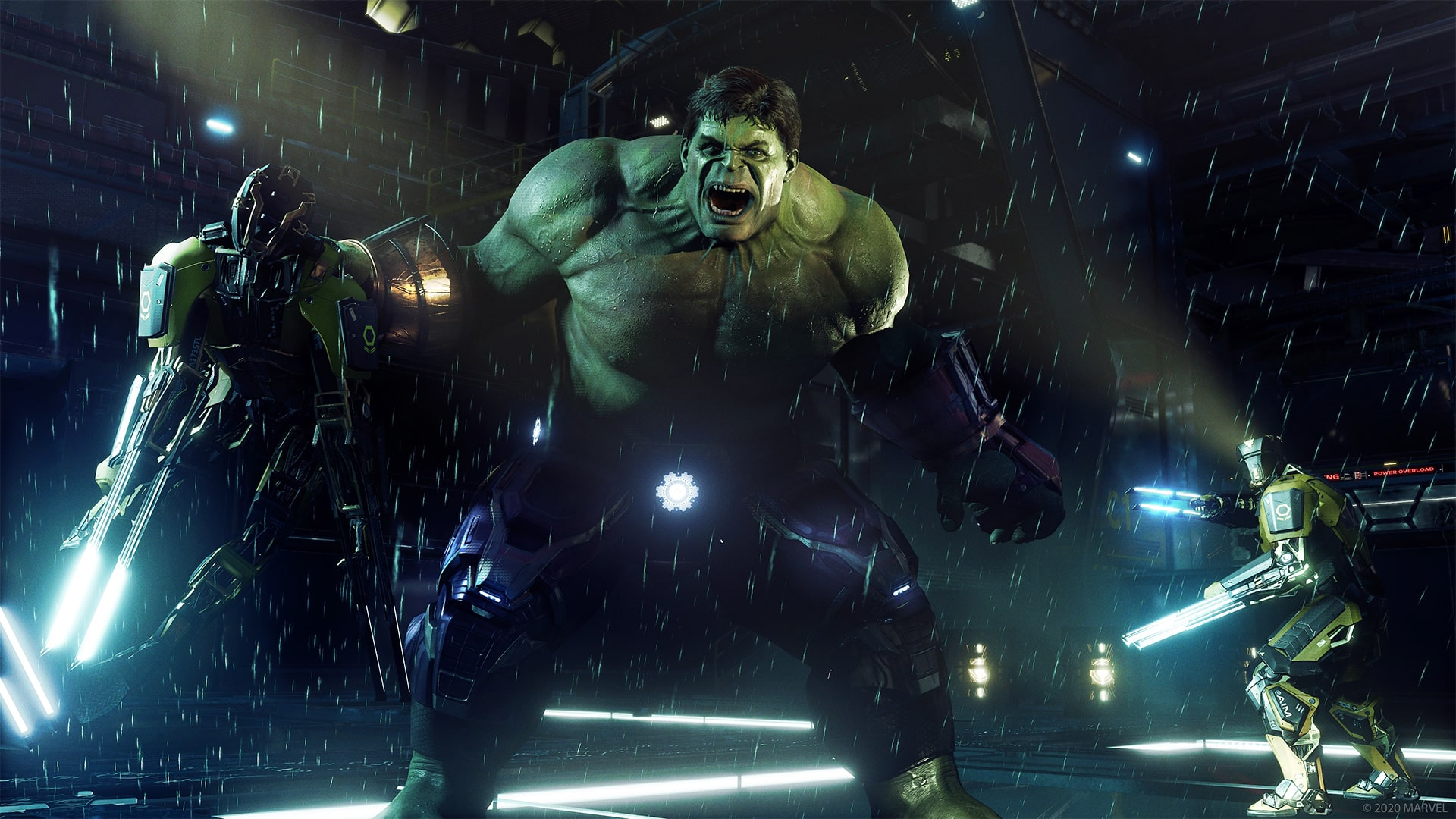 Marvels Avengers beta preview Crystal Dynamics Square Enix Marvel's Avengers