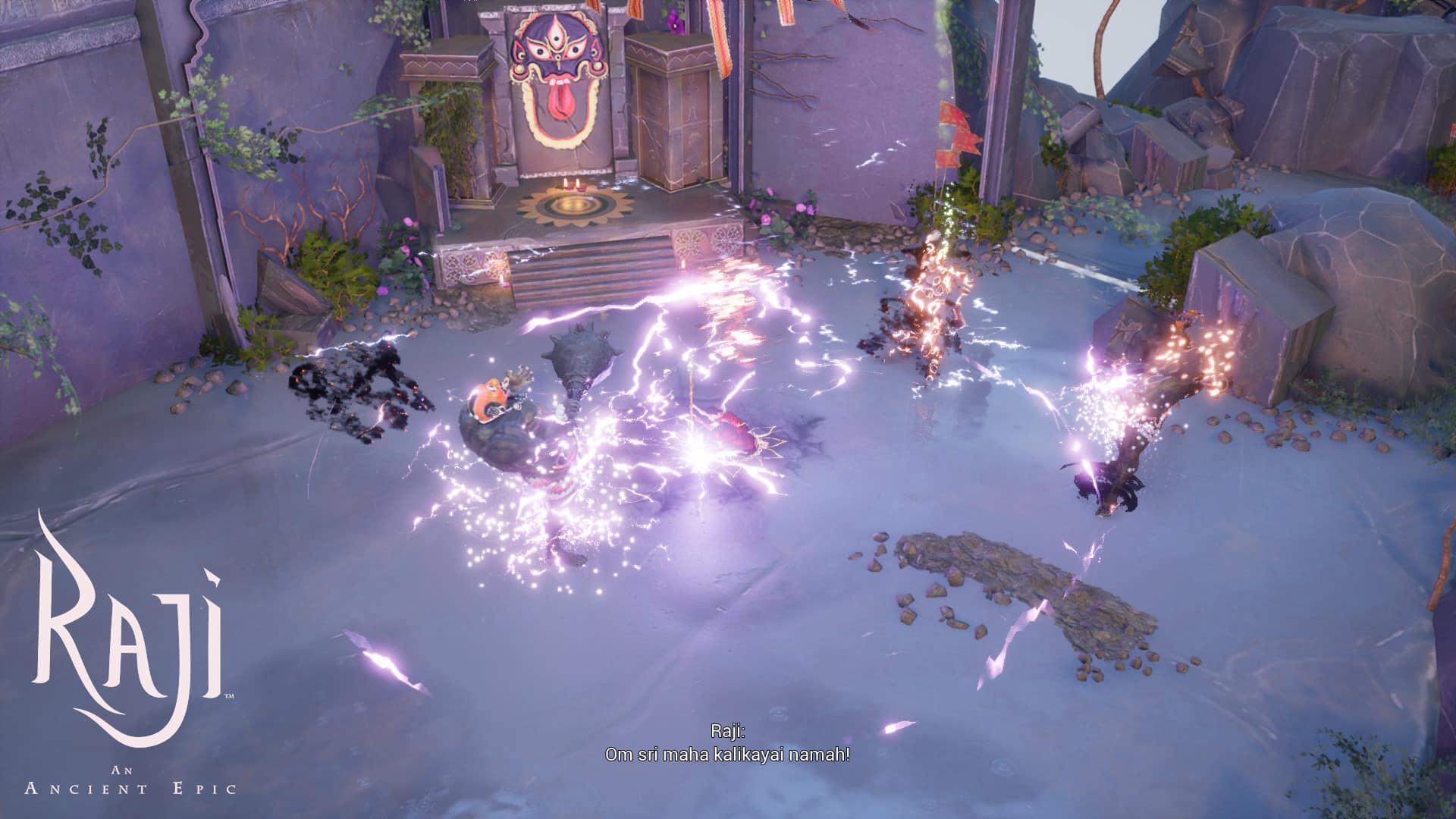 Raji: An Ancient Epic demo Nodding Head Games Gears of War combat in Hindu mythology
