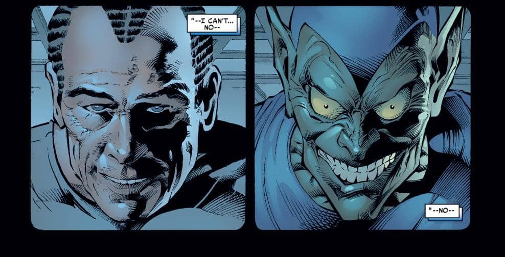 Sins Past Green Goblin What If stories Elseworlds comics judicial court advisory opinions hypothetical legal situations outside the law