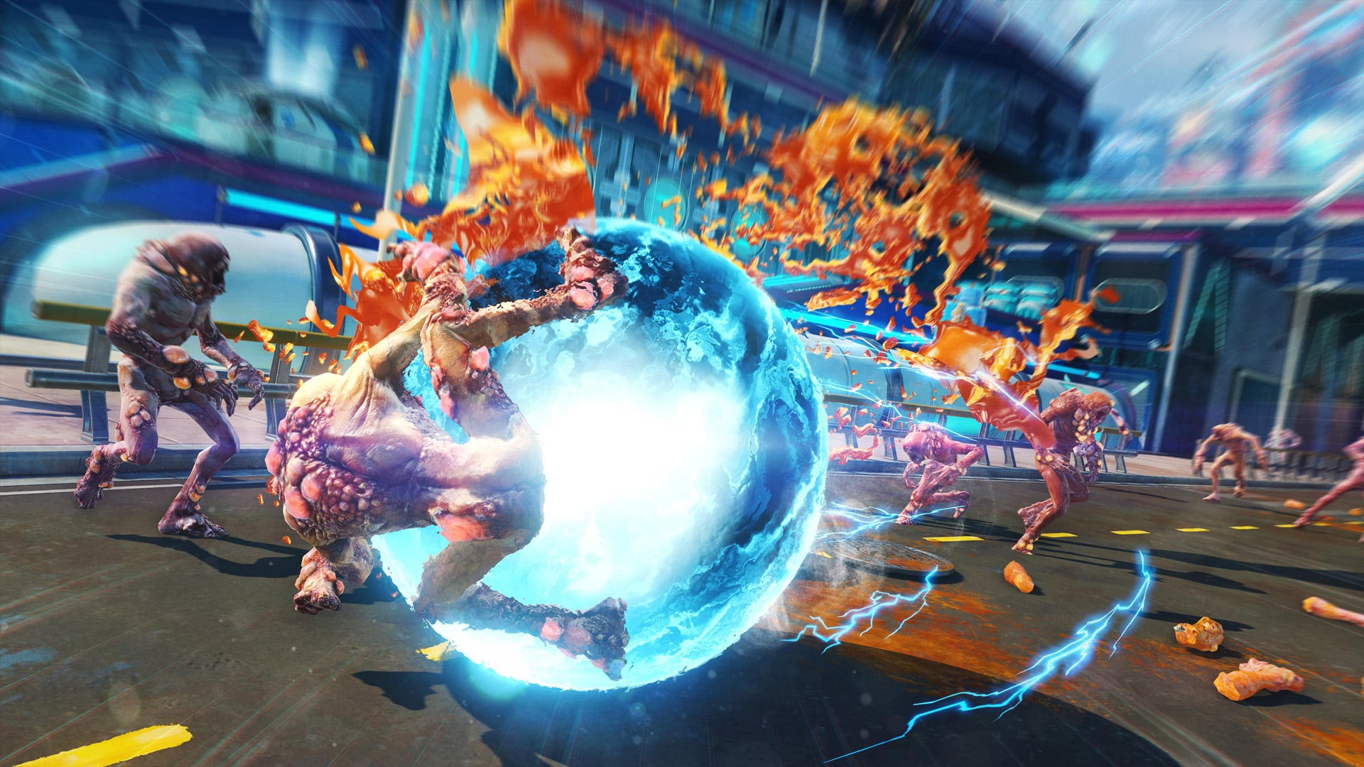 Insomniac Games Sunset Overdrive Spider-Man