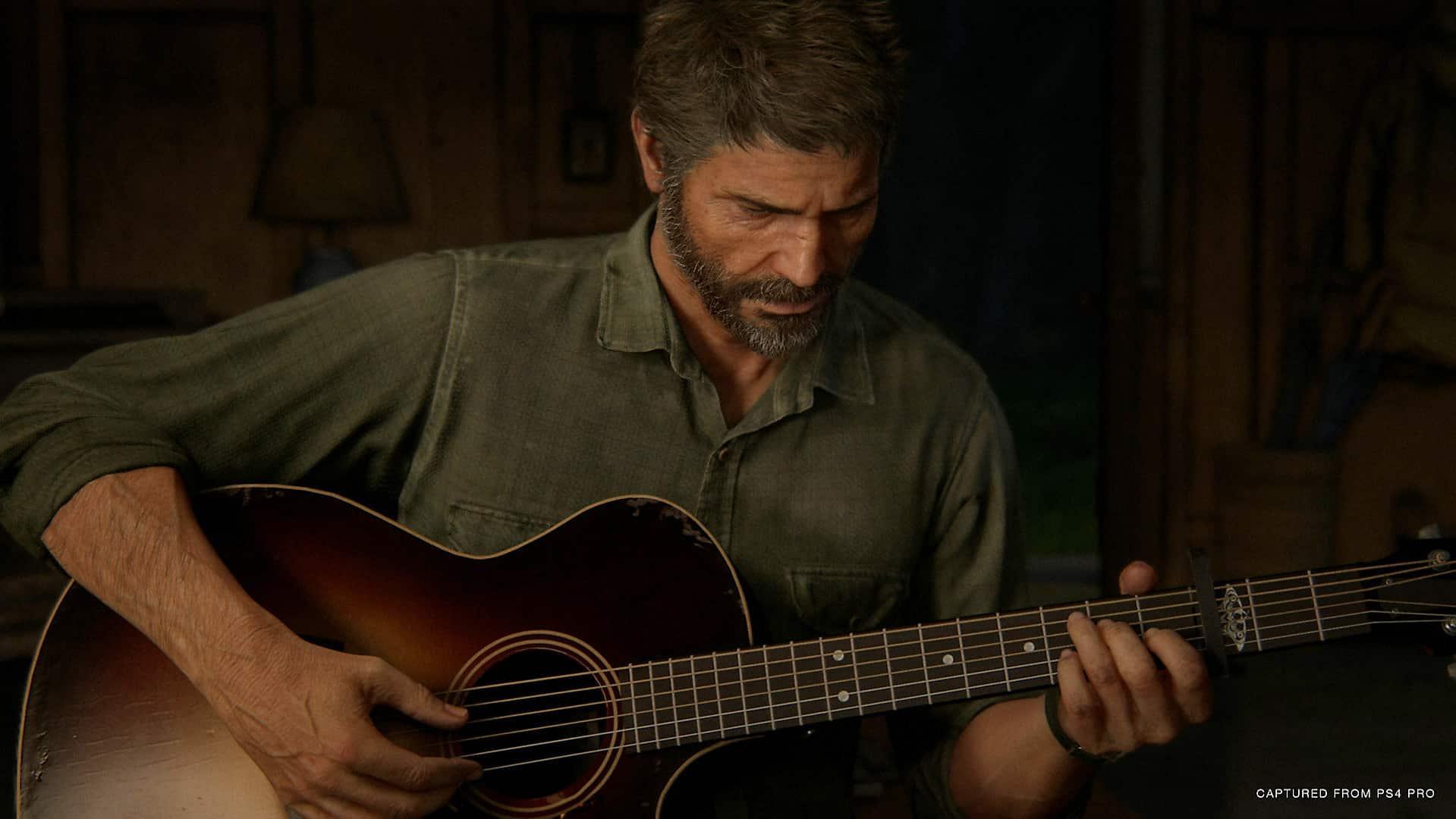 The Last of Us Part II Wyoming museum flashback Ellie Joel dinosaurs space guitar