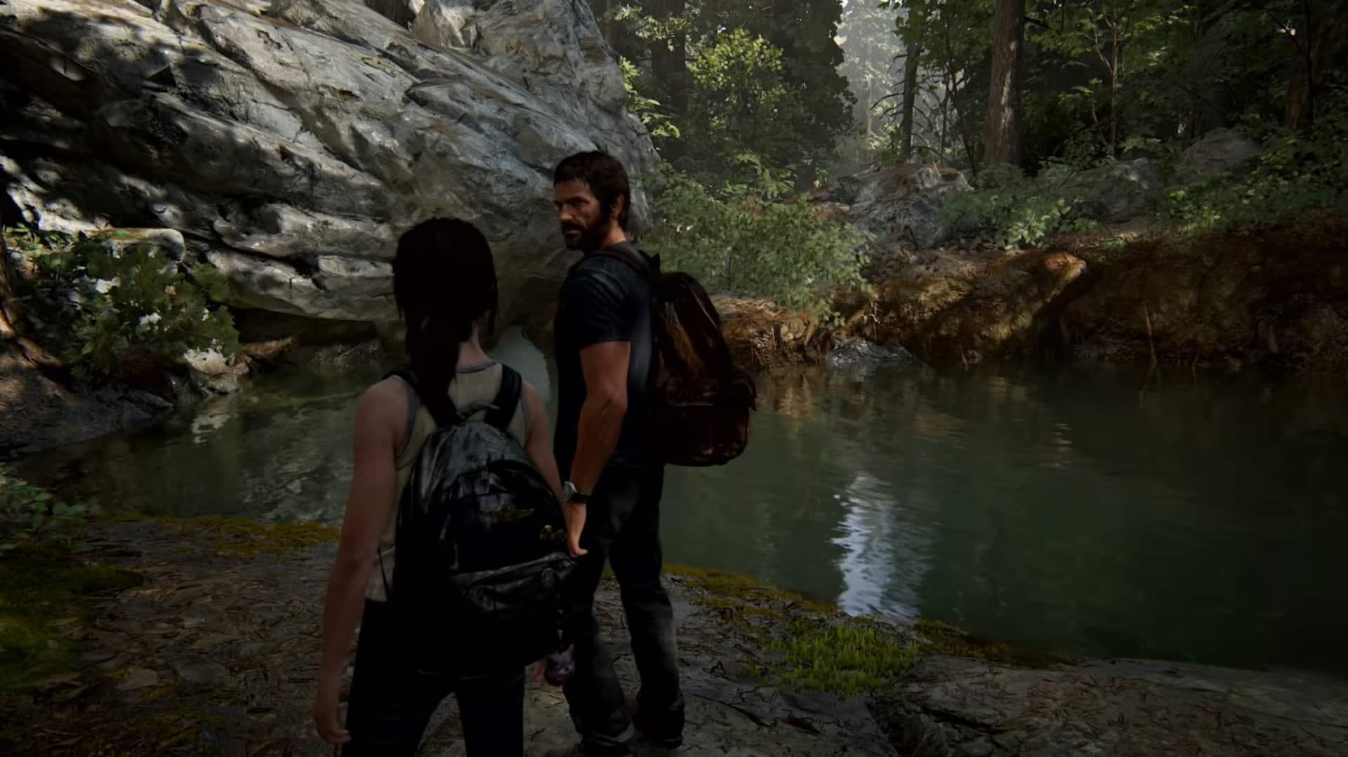 The Last of Us Part II Wyoming museum flashback Ellie Joel dinosaurs space