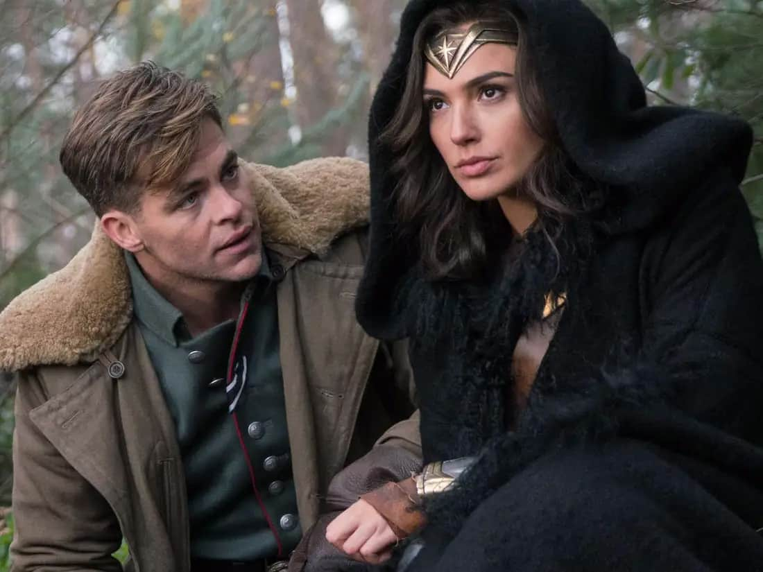 movie 2017 Wonder Woman is about what it means to be a superhero, morals, and justice, flawed human nature, Patty Jenkins Gal Gadot