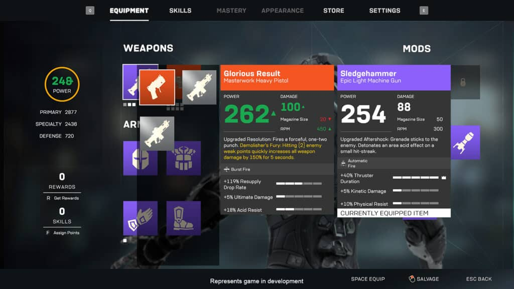Anthem Next, Anthem 2.0, BioWare, EA, update, loot, Christian Dailey