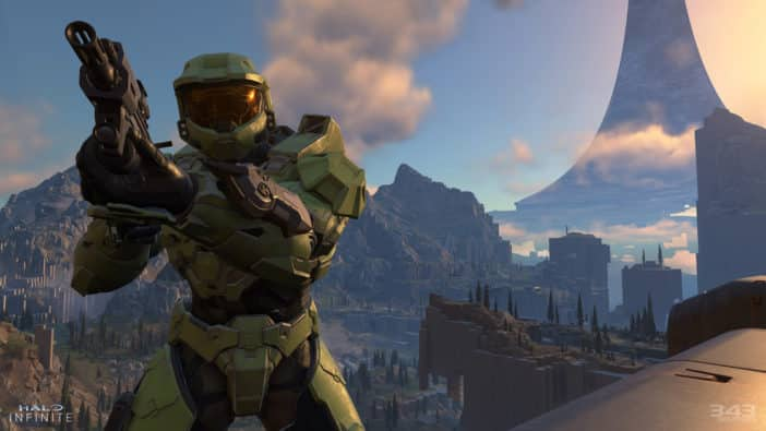 Halo Infinite, Xbox Series X, 343 Industries, Grappleshot, Master Chief