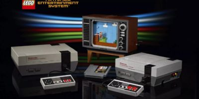 Lego Nintendo Entertainment System Lego NES $229 retro TV CRT