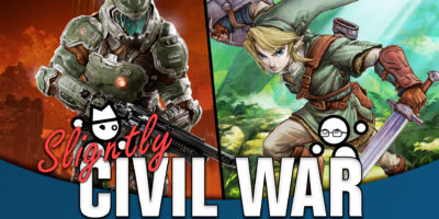 Would Link Defeat Doomguy in a Fight? Slightly Civil War Yahtzee Croshaw Jack Packard Doomguy Link Doom The Legend of Zelda