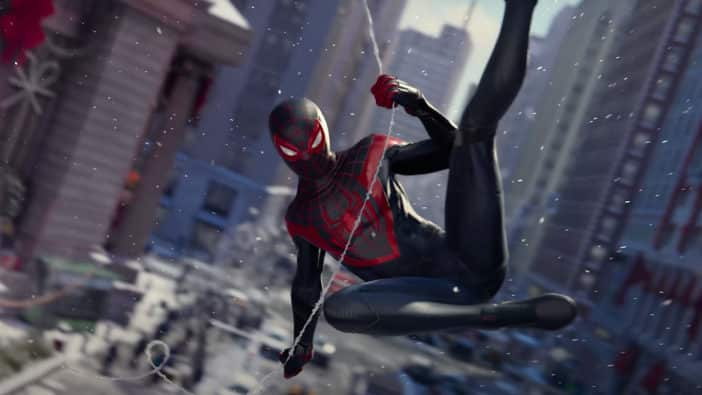 Spider-Man: Miles Morales 4K/60FPS Cadence of Hyrule DLC next-gen Overcooked World War Z cross-play , gameplay, Spider-Man: Miles Morales Features Ray-Traced Puddles Insomniac Games full character arc PlayStation 4