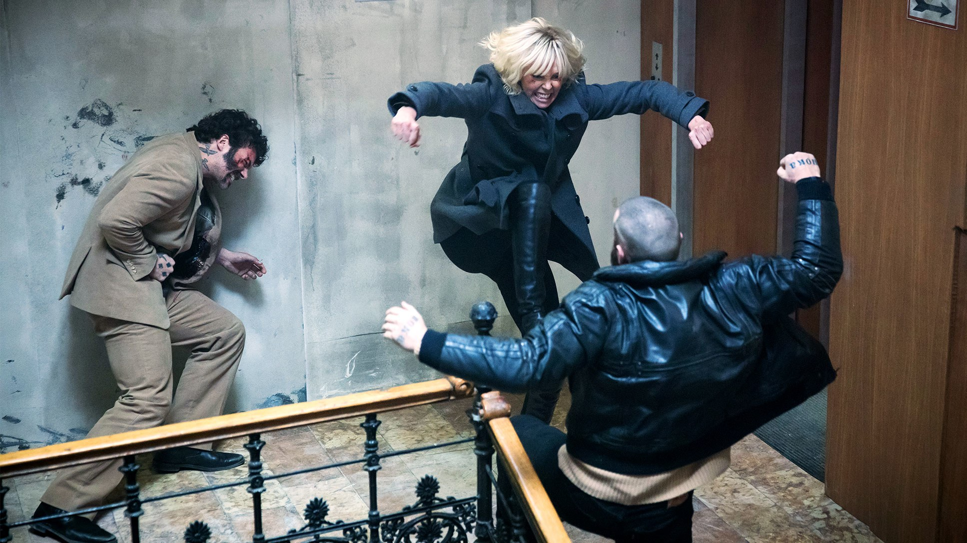 Atomic Blonde apocalypse at the end of the world Berlin Wall David Leitch