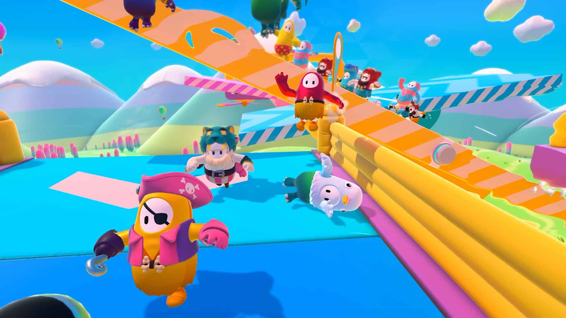 Fall Guys: Ultimate Knockout preview Mediatonic Devolver Digital multiplayer game fun