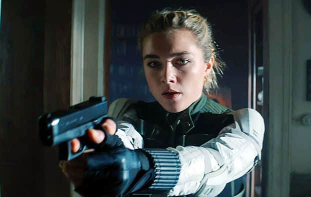 Black Widow Florence Pugh in the MCU Marvel Cinematic Universe after Scarlett Johansson