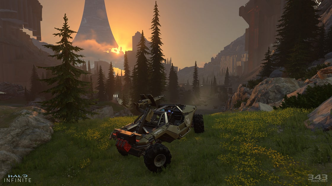 Halo Infinite gameplay reveal feels like classic Halo: Combat Evolved 343 Industries Chris Lee Xbox Series X Xbox Games Showcase