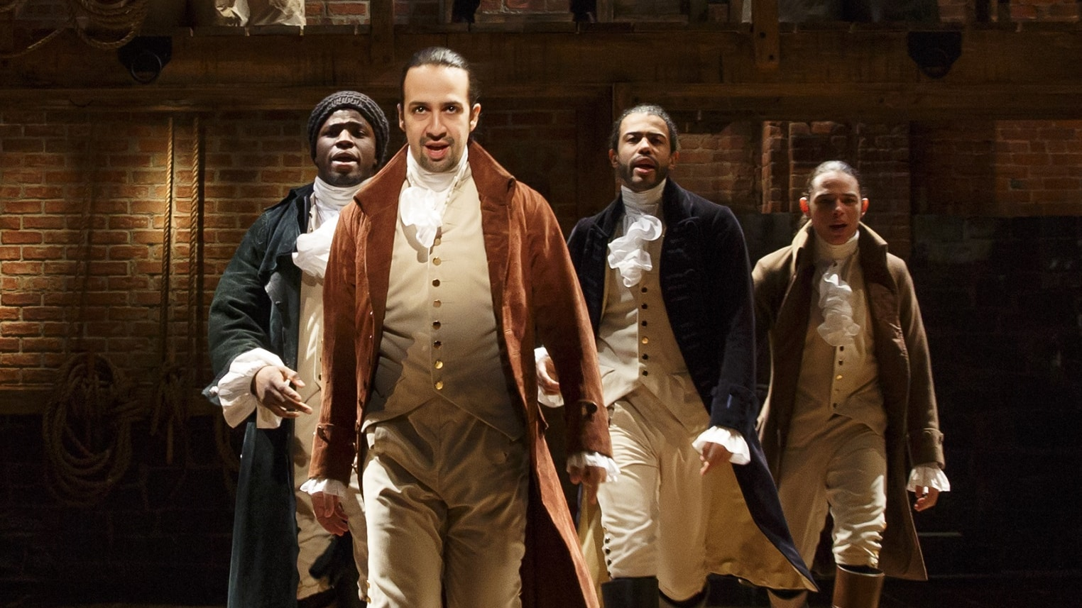 Hamilton movie Disney+ Lin-Manuel Miranda brings theater experience home