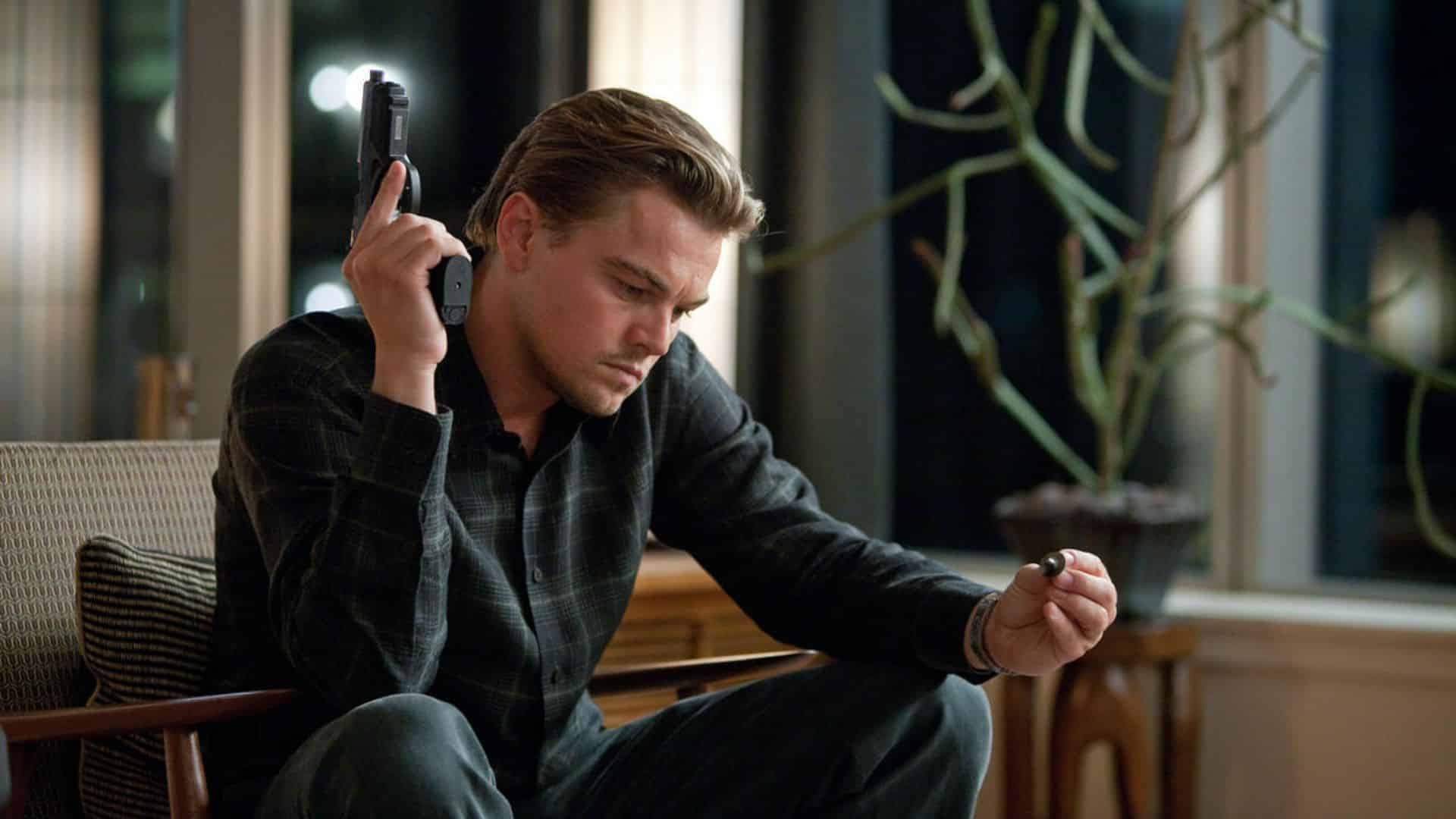 10 years later Inception is about movies but wary of movies, a Christopher Nolan film in-between Batman Dark Knight movies
