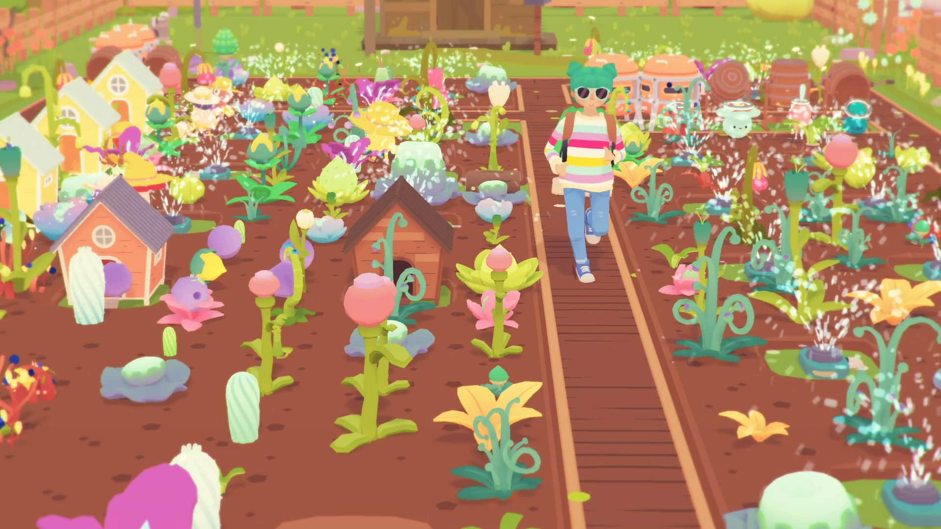 early access Ooblets preview Glumberland Pokémon Stardew Valley dance battle beat serene gameplay