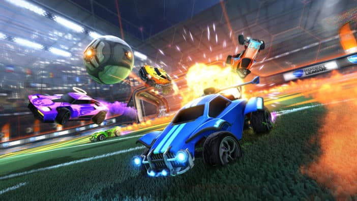Rocket League, Psyonix, free to play, Epic Games Store, Steam