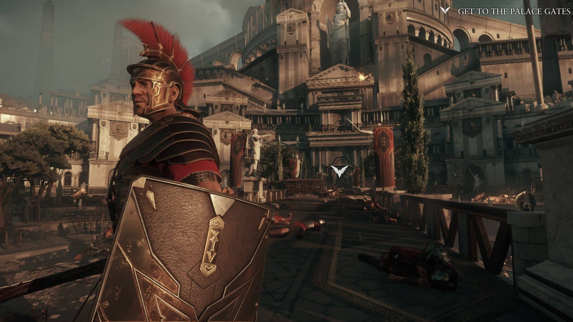 Ryse: Son of Rome is past and future of gaming and game design between Xbox One and Xbox Series X next-generation systems Crytek launch game