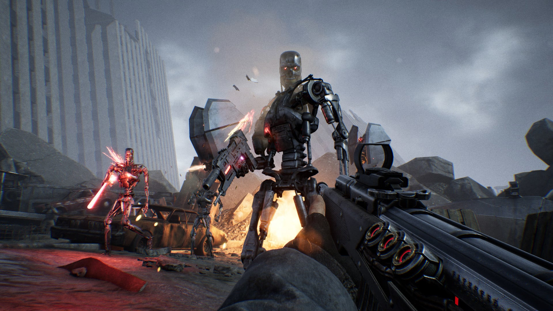 Terminator: Resistance Is the Best Terminator Sequel Since Terminator 2 Teyon first-person shooter