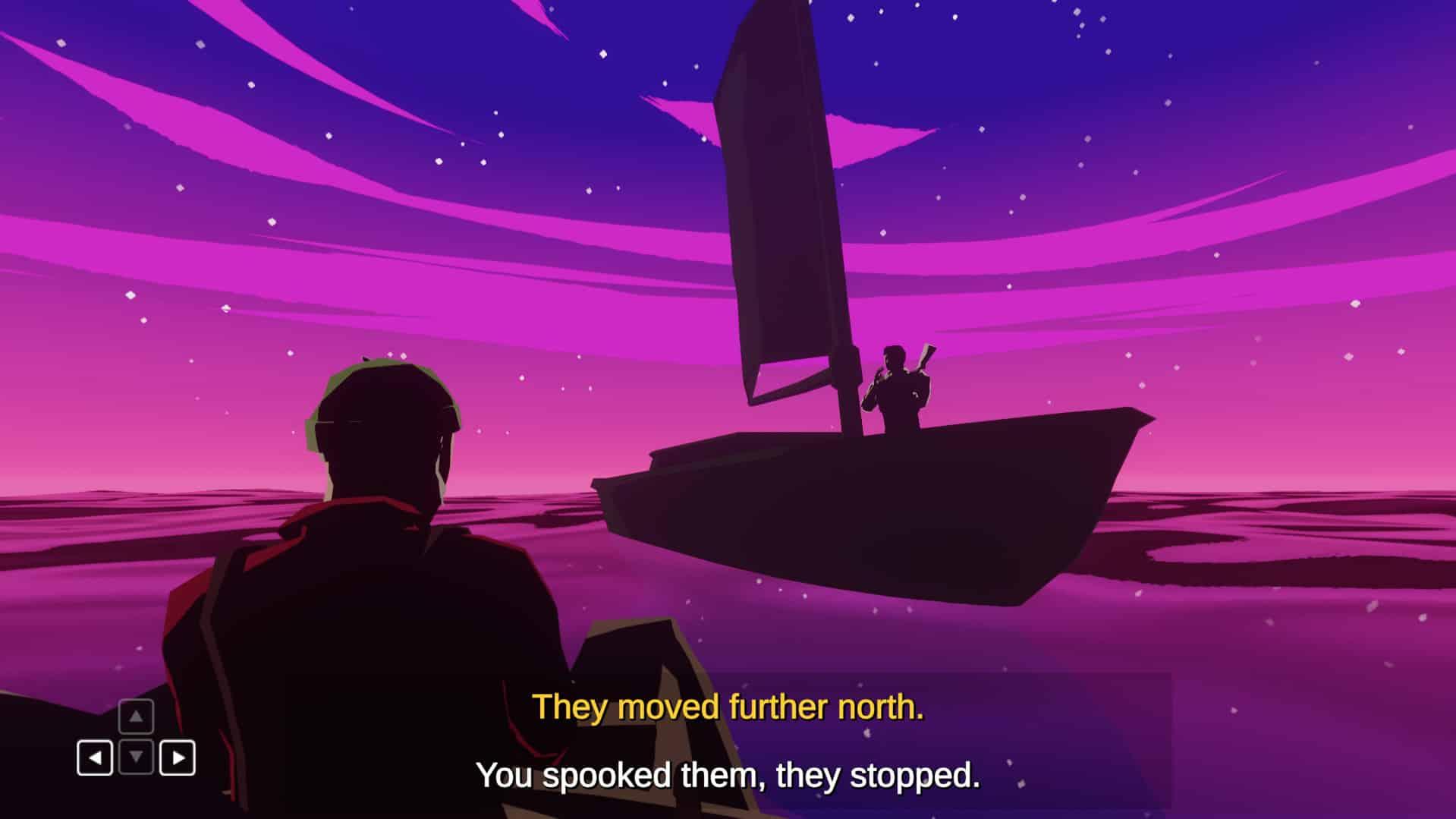 The Night Fisherman Far Few Giants free confrontation narrative game