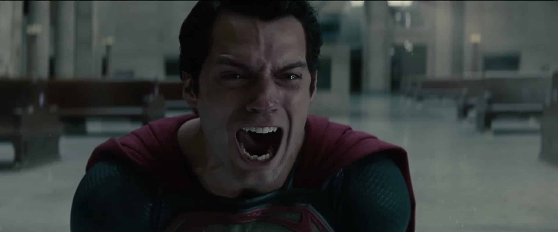 Superman yelling in Man of Steel Warner Bros. WarnerMedia DCEU DC Extended Universe plan: retain Superman, Batman, Wonder Woman, and others, but with a new Flashpoint multiverse with The Flash that allows standalone films.