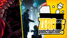 Carrion review Zero Punctuation Yahtzee Croshaw Beyond a Steel Sky Phobia Game Studio Devolver Digital Revolution Software