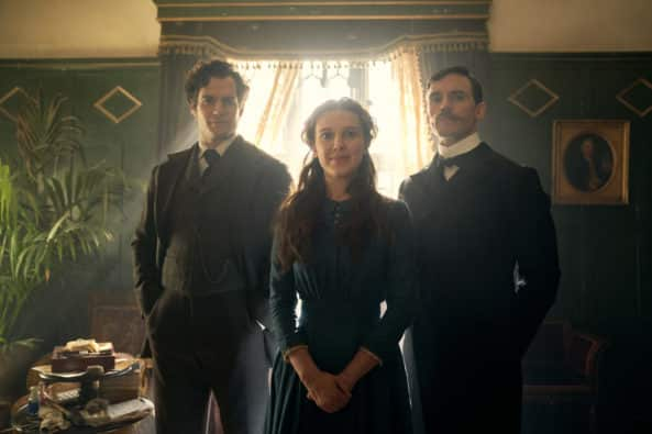 Millie Bobby Brown and Henry Cavill Sherlock Hard in the First Trailer for Enola Holmes