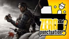 Zero Punctuation review Ghost of Tsushima Yahtzee Croshaw Sucker Punch Productions
