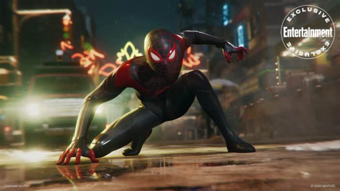 , gameplay, Spider-Man: Miles Morales Features Ray-Traced Puddles Insomniac Games full character arc