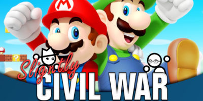 Is Luigi Better Than Mario? - Slightly Civil War Luigi Mario Yahtzee Croshaw Jack Packard Nintendo