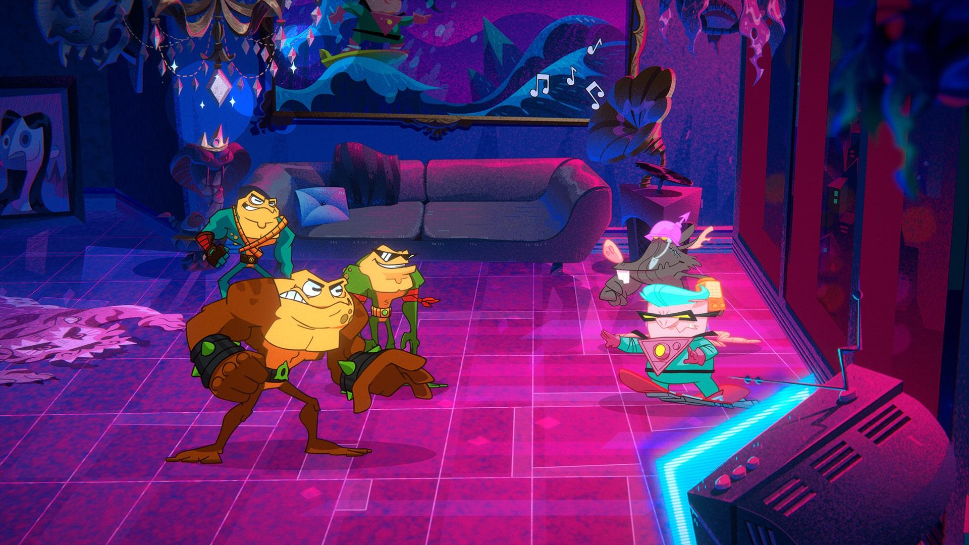 Microsoft Dlala Studios 2020 Battletoads reboot great for a dumb franchise