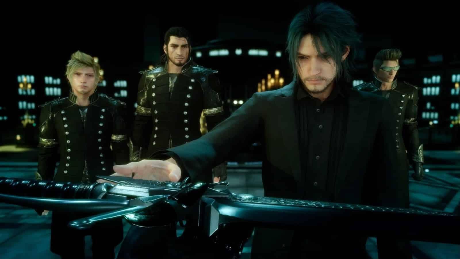 Final Fantasy XV Noctis Lucis Caelum Is Both a God King and a Slave to Fate Noctis Jesus Square Enix myth religion hero
