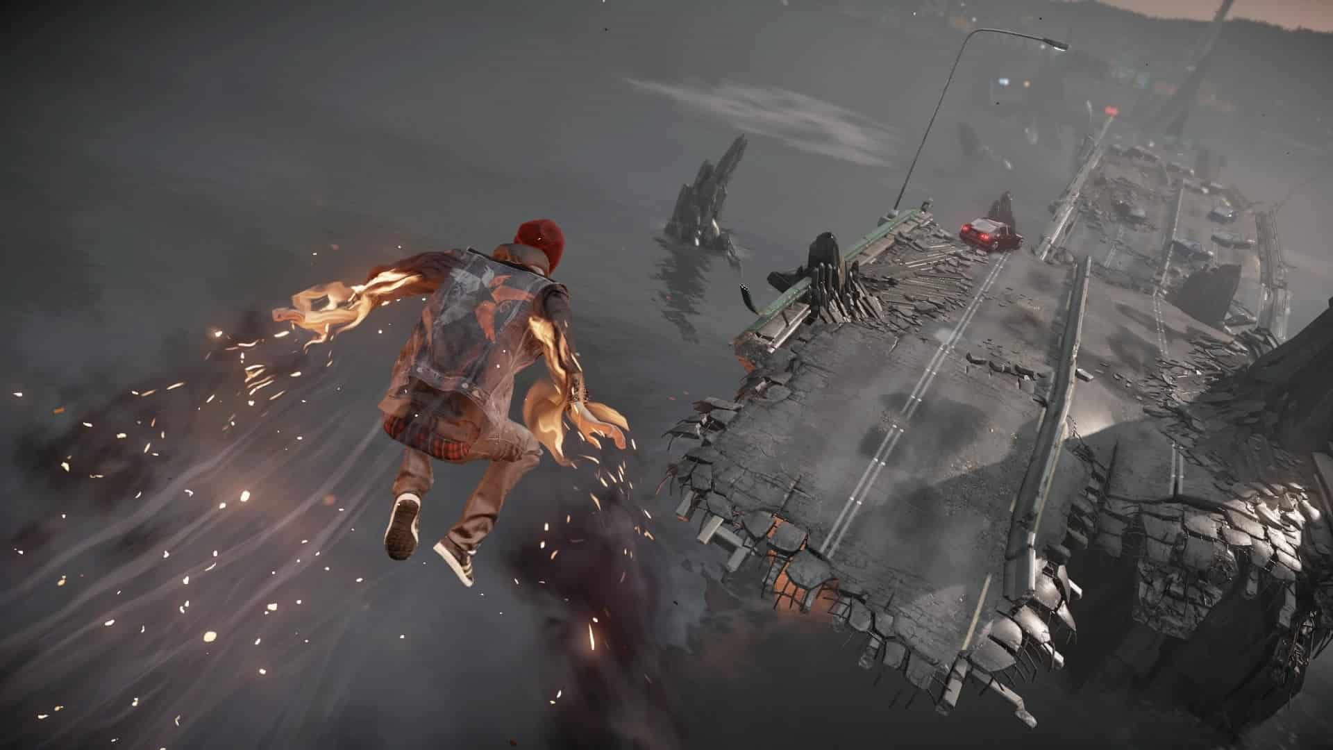 Infamous Second Son morality black and white does not work in this age of protest and dissent, Sucker Punch Productions