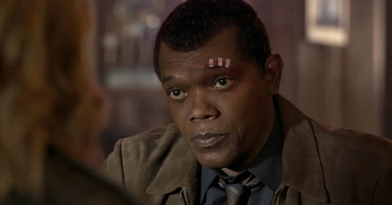 Nick Fury young with two eyes