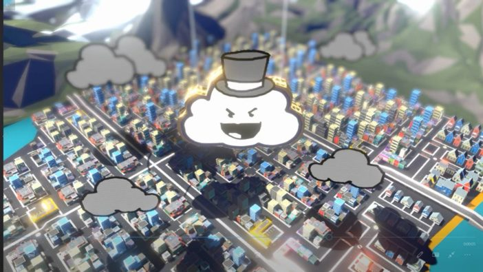 Rain on Your Parade: Prologue Unbound Creations free game itch.io cute storm cloud game
