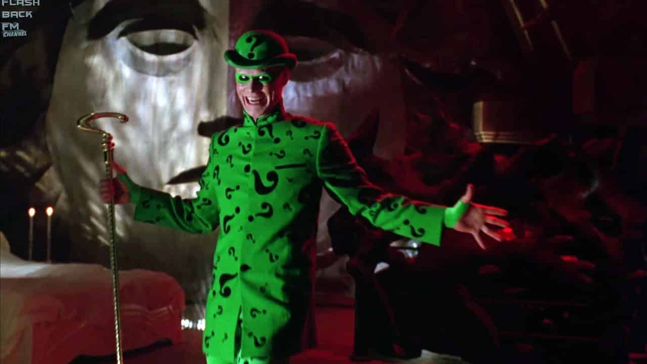 The Batman The Riddler Frank Gorshin DC Comics Silver Age villain antagonist, a cerebral challenge Batman Forever
