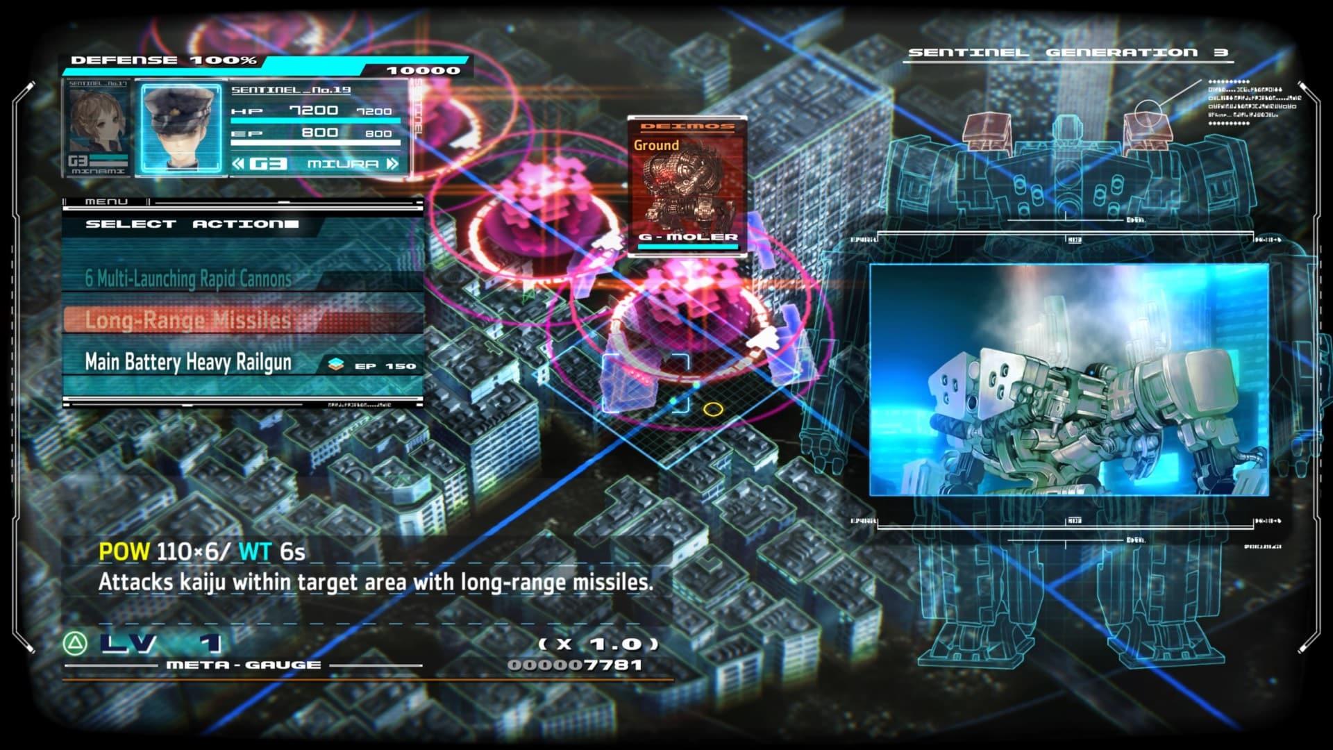 13 Sentinels RTS mode