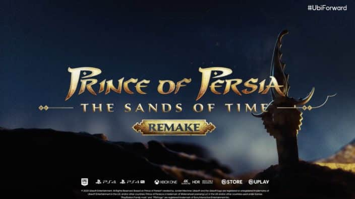 Prince of Persia: The Sands of Time Remake Ubisoft Forward PlayStation 4 Xbox One PC