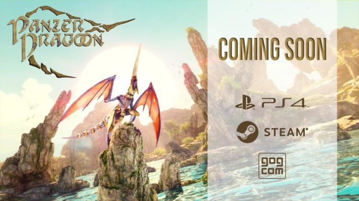 Panzer Dragoon: Remake release soon PlayStation 4 PC GOG Steam Xbox One later