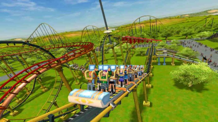 RollerCoaster Tycoon 3: Complete Edition, Atari, Complete Edition, Frontier Developments, Nintendo Switch, PC
