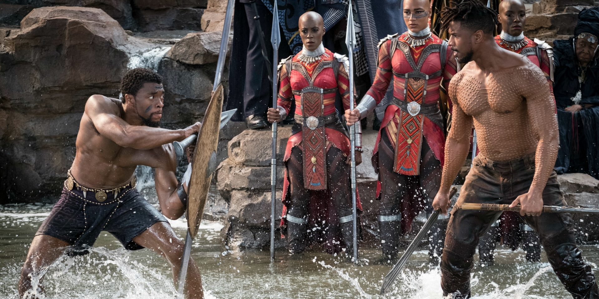 Chadwick Boseman Black Panther Wakanda offers the uncolonized Black country, the meaningful Black superhero as a symbol
