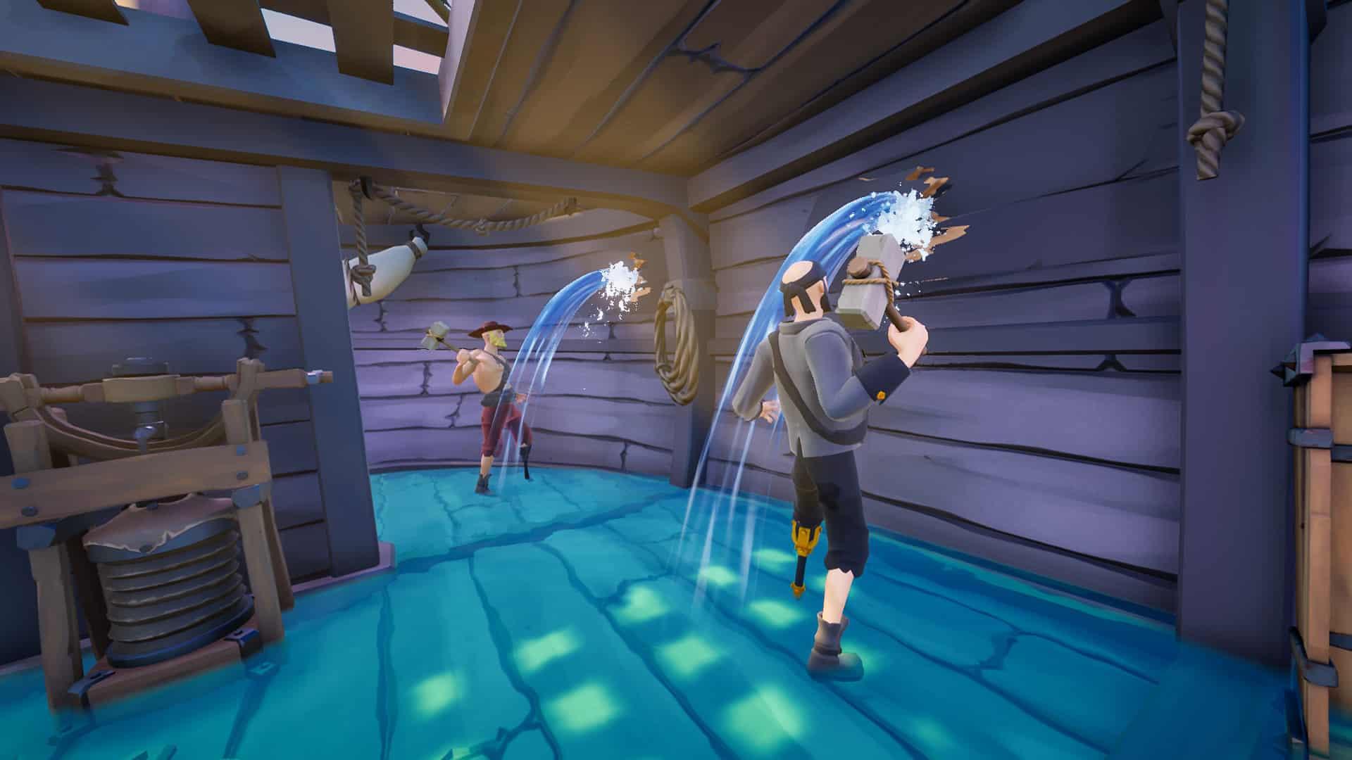 Blazing Sails Get Up Games Iceberg Interactive future battle royale evolution iteration