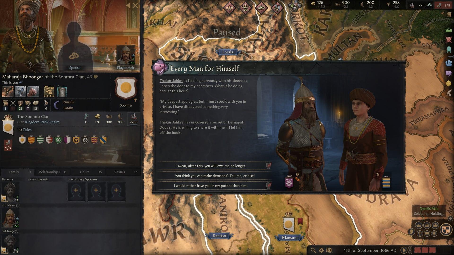 Crusader Kings III complexity Paradox Interactive Crusader Kings 3 gameplay operationalization