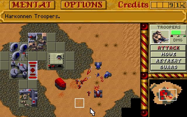 rise and fall of Dune video games history: Westwood Studios, Dune II, Dune 2000, Frank Herbert's Dune