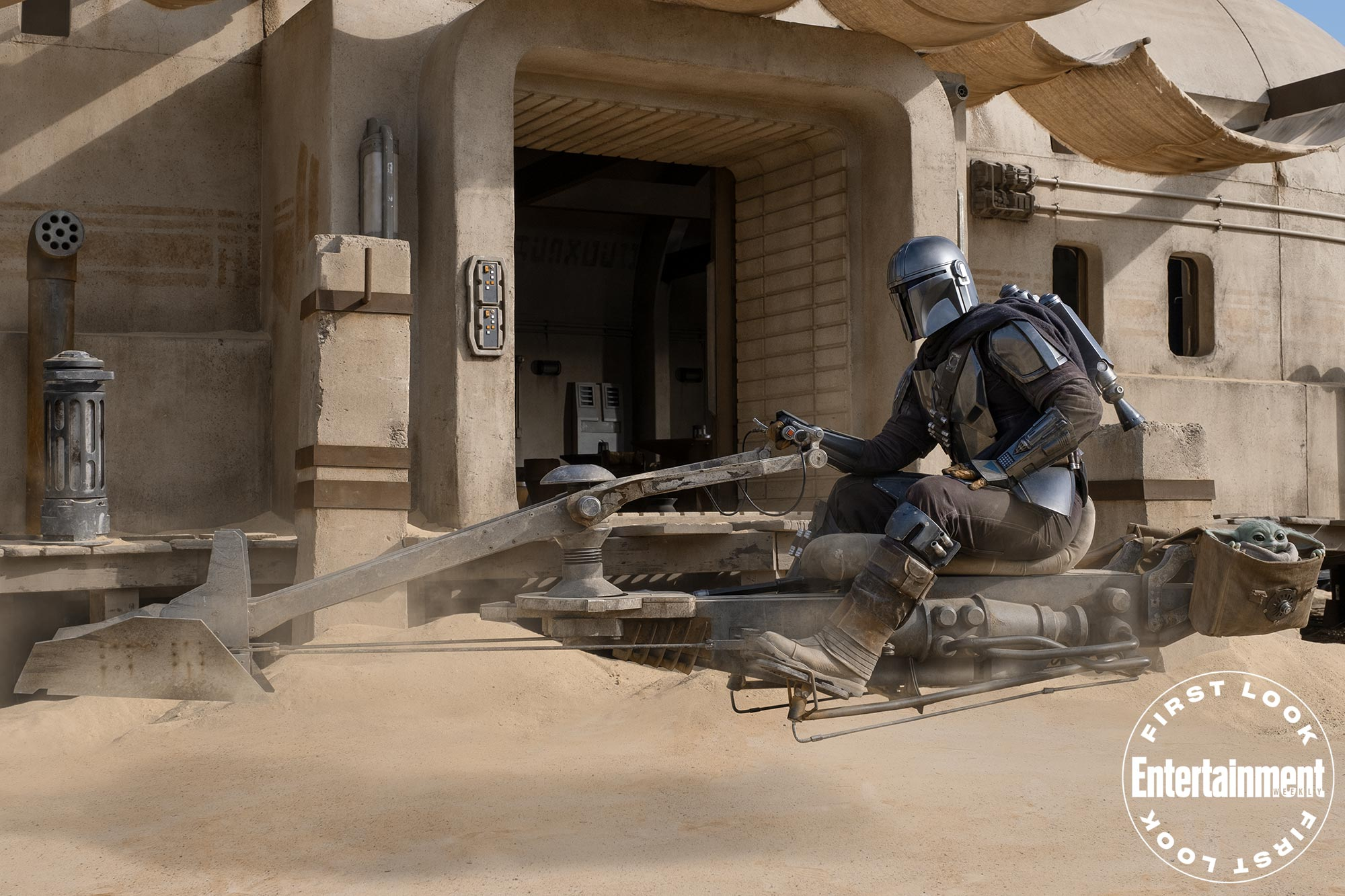 The Mandalorian Season 2 First Images Feature Speeder And Super Casual Gina Carano