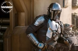 The Mandalorian Season 2 First Images Feature Speeder bike Entertainment Weekly Star Wars