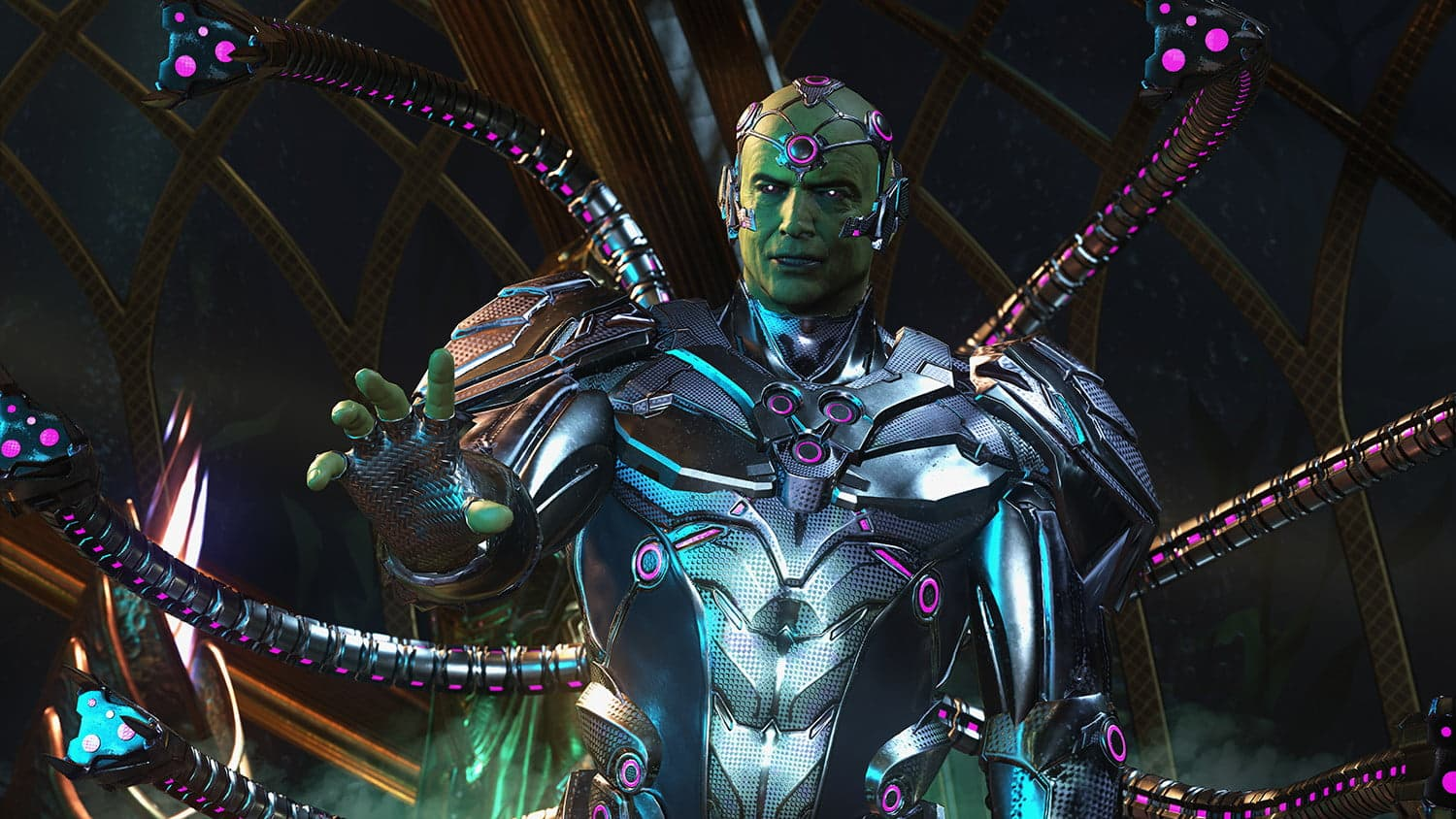 Injustice: Gods Among Us Injustice 2 video games are the DCEU DC Extended Universe we deserve from DC Comics - Batman Superman Flash Brainiac