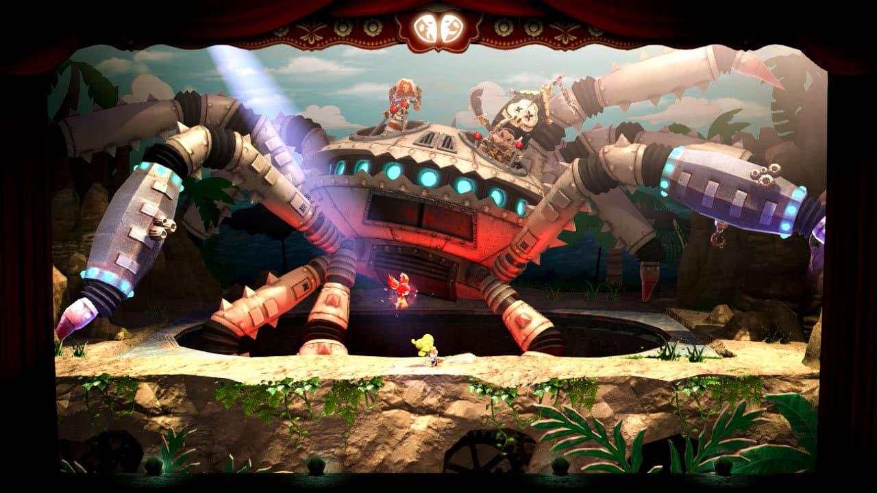 Puppeteer SCE Japan Studio PlayStation 3 Sony first-party gem platformer Gavin Moore