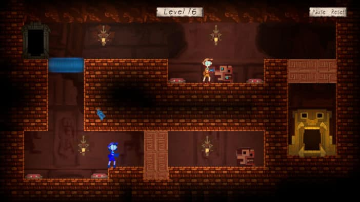 Soulcaster PC game StarByte DigiPen Institute of Technology free puzzle platformer with clones and teleportation